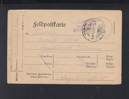 Dt. Reich Feldpost 1915 Ukraine Huszt - Deutschland