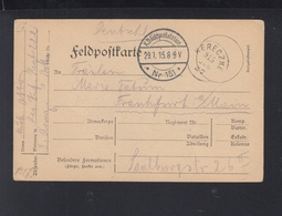 Dt. Reich Feldpost 1915 Ukraine Kereczke - Deutschland