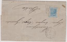 Italy 1873 Lettera Con 20 Cent - 1861-78 Vittorio Emanuele II