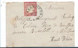 EL139 / Elsass, Saargemünd, Hufeisen 1873 Auf Brustschild - Deutschland