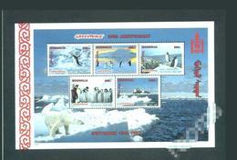 Mongolie 1998 Faune Manchots Ours Polaires Arctiques Greenpeace - Pingouins & Manchots