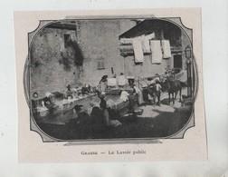 Grasse Le Lavoir Public 1904 Style Art Nouveau - Vieux Papiers