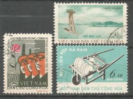 Vietnam 1962 Used Stamps - Viêt-Nam