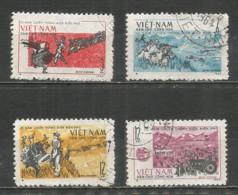 Vietnam 1964 Used Stamps Set - Viêt-Nam
