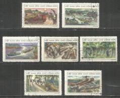 Vietnam  1969 Used Stamps , Set - Viêt-Nam