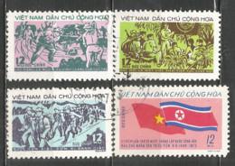 Vietnam 1973 Year Used Stamps , Set - Viêt-Nam