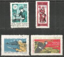 Vietnam 1973 Year Used Stamps Porto - Viêt-Nam