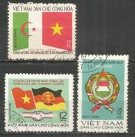 Vietnam 1975 Year Used Stamps - Viêt-Nam