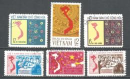 Vietnam 1976 Year Used Stamps - Viêt-Nam