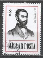 Hungary 1976. Scott #2436 (U) Pal Gyulai (1826-1909) Poet And Historian ** - Hungary