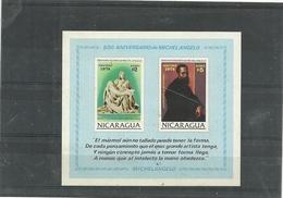 NICARAGUA--   MICHELANGELO  FOGLIETTO-- 1974 - Nicaragua