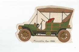 Chromos Decoupis Automobile Franklin Car 1906 - Découpis