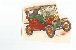 Chromos Decoupis Automobile Ford T 1908 - Découpis
