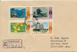 Trinidad & Tobago / PORT-of-SPAIN   - 1987,   R-Brief Nach Karl-Marx-Stadt / DDR - Trinidad Y Tobago (1962-...)