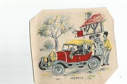 Chromos Decoupis Automobile Morris - Découpis