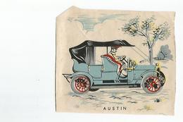 Chromos Decoupis Automobile Austin - Découpis