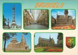 BRUXELLES - Multi-vues - N'a Pas Circulé - Panoramische Zichten, Meerdere Zichten