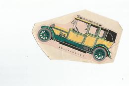 Chromos Decoupis Automobile Rolls Royce - Découpis