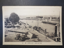14 - Honfleur - CPA - Sortie Du Port  - L.L  N° 287  - Peu Commune - 1936 -  T.B.E - - Honfleur