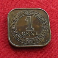 Malaya 1 Cent 1939 KM# 2 Malaia - Malaysie