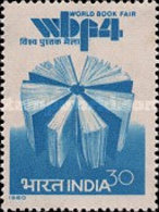 USED STAMPS - India - The 4th World Book Fair, New Delhi -  1980 - India