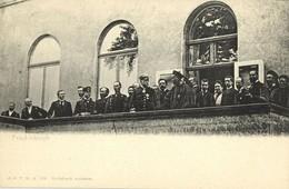 China, Viceroy Of Zhili Li Hongzhang Meets Otto Von Bismarck (1896) Postcard - China