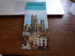 Dépliant Touristique Canterbury The British Isles - Dépliants Touristiques