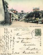 China, CHEFOO YANTAI 烟台, Street To Japanese And French Consulate 1908 Navy Mail - Chine