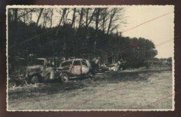 GUERRE 39/45 - LUMBRES (PAS-DE-CALAIS)  JUIN 1940 - VEHICULES ET MATERIEL FRANCAIS DETRUITS PAR LES ALLEMANDS - Guerre 1939-45