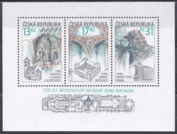 Tschechien Czechia 2001 Architektur Architecture Bauwerke Buildings Jakobskirche Kuttenberg Butschowitz Gehry, Bl. 14 ** - Ungebraucht