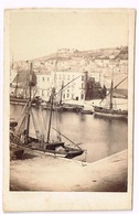 CETTE Sète (Hérault)  CDV 1866 Port + Bateau - Photographs