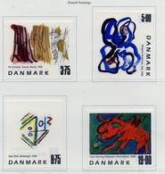 PIA - DANIMARCA -1998 : Quadri Di Pittori Danesi -  (Yv   1193-96) - Nuovi