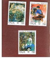 ITALIA - UN. 2144.2146  -   1994 AVVENIMENTI DELLA 2^ GUERRA MONDIALE (SERIE COMPLETA DI 3)   -  NUOVI **(MINT) - 6. 1946-.. Repubblica