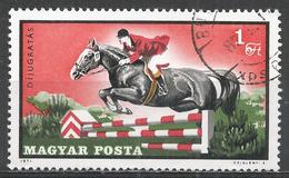 Hungary 1971. Scott #2100 (U) Equestrian Sports, Jumping * - Hungary