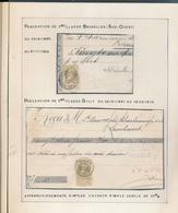 BELGIUM BELGIQUE RECUS BRUXELLES GILLY - 1905 Grosse Barbe