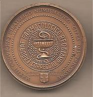 Italia - Medaglia In Bronzo: XXXIII Convegno Numismatico Reggio Emilia - Laboratorio Farmacologico Reggiano - 1998 - Altri