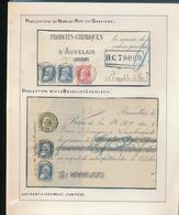 BELGIUM BELGIQUE RECUS BRUXELLES NAMUR - 1905 Grosse Barbe