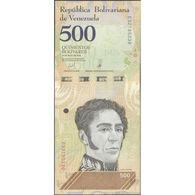 TWN - VENEZUELA NEW - 500 Bolivares 18.5.2018 (2019) Prefix E UNC - Venezuela