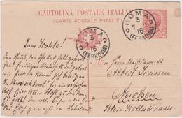 Italy 1916 Cartolina Postale 10 C From Roma To Munchen - 1900-44 Vittorio Emanuele III