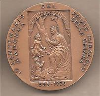 Italia - Medaglia In Bronzo: XXXII Convegno Numismatico Reggio Emilia - 4° Centenario Miracolo Madonna Ghiara - 1996 - Italia
