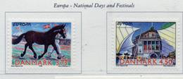 PIA  -  DANIMARCA -  1998  : EUROPA - Festival E Feste Nazionali -     (Yv  1191-92 ) - Danemark