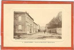 Gard : La Grand Combe, Rue De La République, Gendarmerie - La Grand-Combe