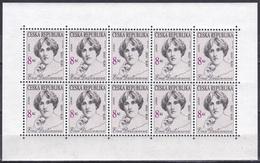Tschechien Czechia 1996 Organisationen Postwesen Europa CEPT Berühmte Frauen Famous Women Destinn Musik, Mi. 114 ** - Tschechische Republik