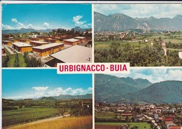 ITALIE--RARE---URBIGNACCO-BUIA--anno 1977--multi-vues--voir 2 Scans - Autres Villes