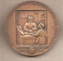 Italia - Medaglia In Bronzo: XXIX Convegno Numismatico Reggio Emilia - 5° Centenario Fondazione Monte Di Pietà - 1994 - Italia