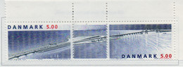 PIA  -  DANIMARCA -  1998  : Inaugurazione Del Ponte Sul Gande Belt -     (Yv  1185-86 ) - Danemark
