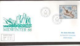 - TAAF - PA100 - 21-6-1988 ALFRED-FAURE CROZET - MIDWINTER 88. - Terres Australes Et Antarctiques Françaises (TAAF)