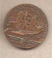 Italia - Medaglia In Bronzo: X Convegno Numismatico Reggio Emilia - Ruderi Di Canossa - 1975 - Italia