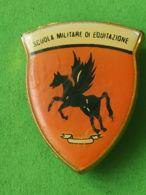 Fregio Scuola Militare Di Equitazione - Italia