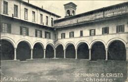 1930circa-Saiano Brescia Seminario S.Cristo Chiostro - Brescia